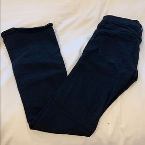 Express black flare jeans